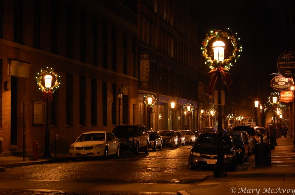Christmas lights Lowell MA III