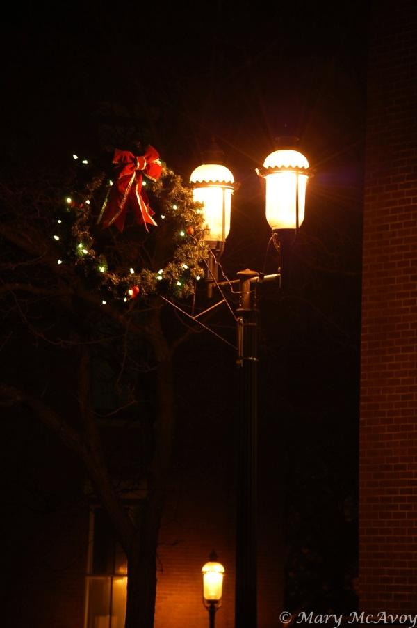 Christmas lights Lowell MA IV