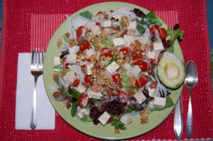 85% organic salad