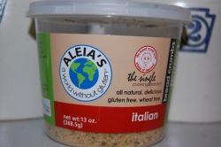 Aleia's Italian gluten free bread crumbs