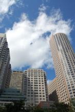 big sky in Boston, Mass.