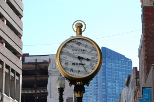 Jewelers Building stop-watch