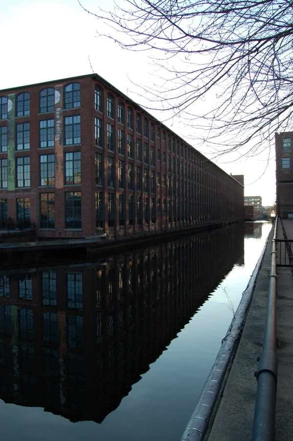 Mill building Lowell Mass 1