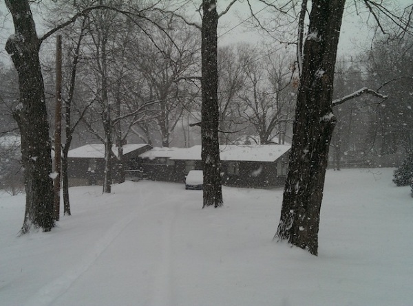 New England Snow Storm 1-2-14