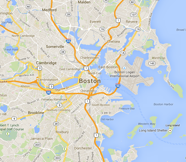 Map Of Greater Boston Boston's Radio Scene – WERS Reigns | sublime days Map Of Greater Boston