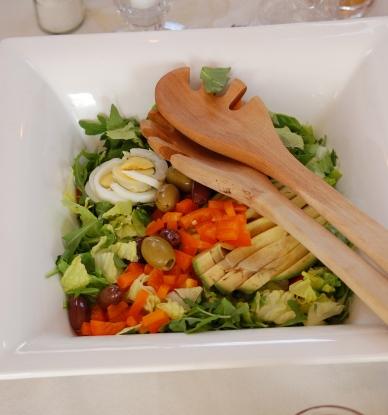 salad - yummy!