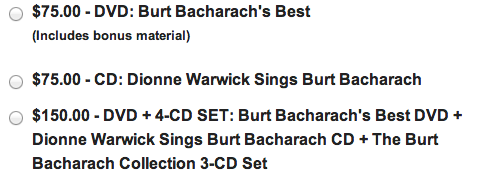 PBS-BurtBacharach donation
