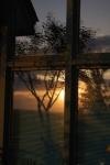 Tower Hill Botanic Garden sunsetreflection