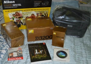 new Nikon D3200 package from B&H