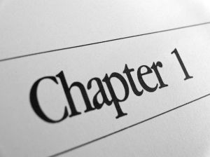 Chapter 1 text image for post about writing