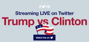 twitter-live-stream-presidential-debates-2016